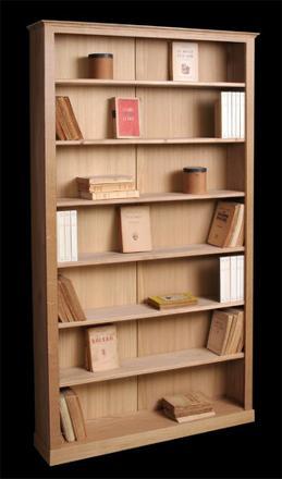 bibliothèque peu profonde