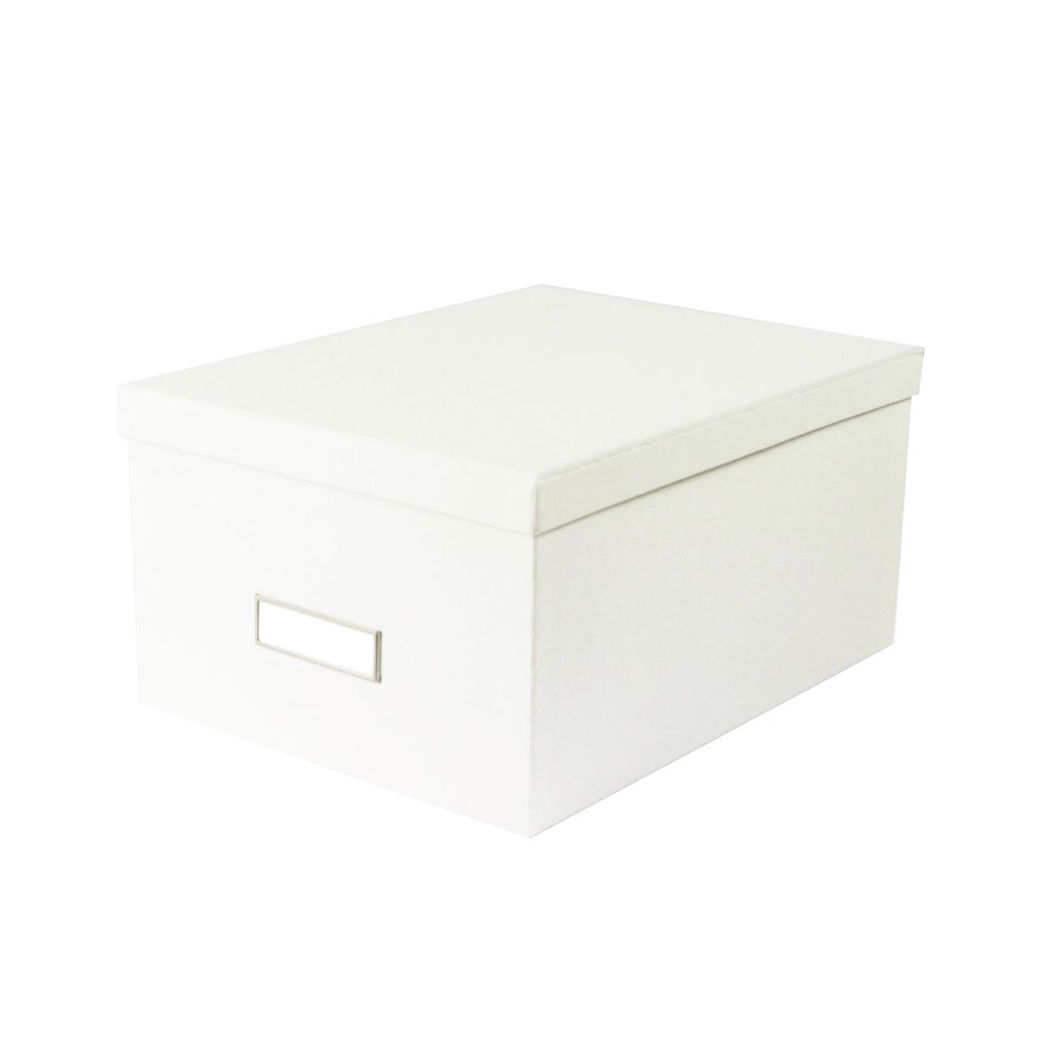 boite rangement blanche