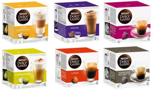 dolce gusto capsules