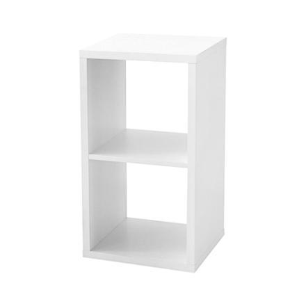 etagere cube blanc