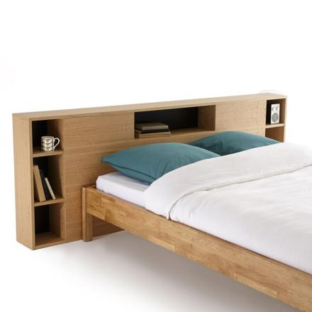 lit avec tete de lit rangement