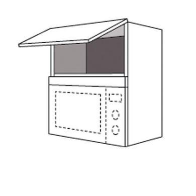 meuble haut micro onde