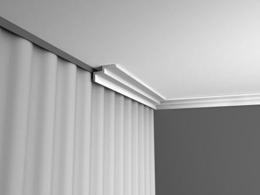 rail plafond rideau