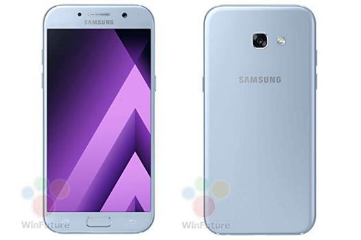 samsung galaxy a5 2017 bleu