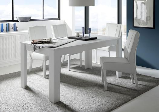 table blanche extensible