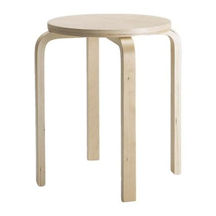 tabouret empilable