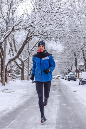 vetement running homme hiver