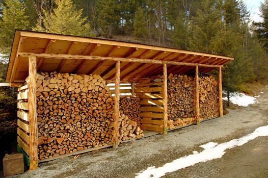 abris a bois