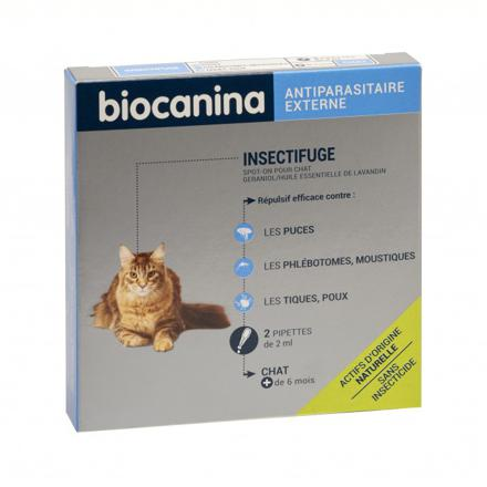 antiparasitaire chat