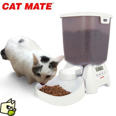 distributeur de croquettes electronique pour chat