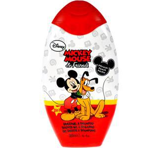 gel douche mickey