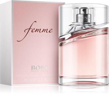 hugo boss femme parfum