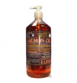 huile de saumon chien