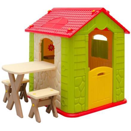 maison enfant jardin