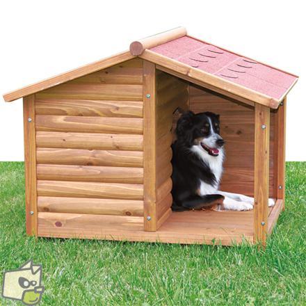 niche chien bois