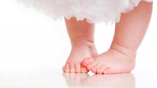 pied de bébé