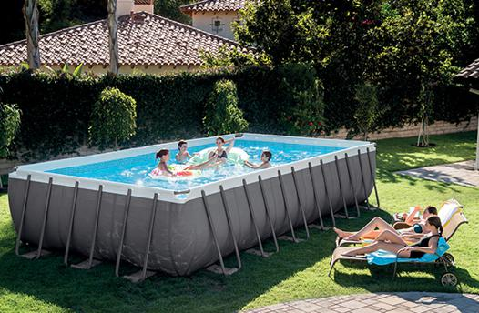 piscine hors sol tubulaire rectangulaire