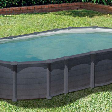 piscine rectangulaire hors sol