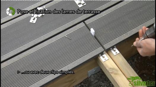 pose terrasse composite