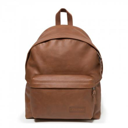 sac eastpak cuir marron