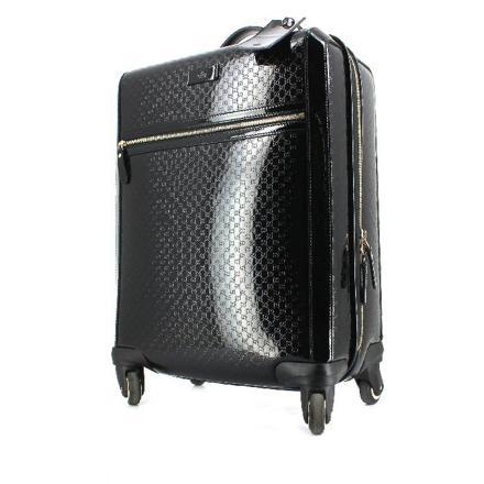 valise noir vernis