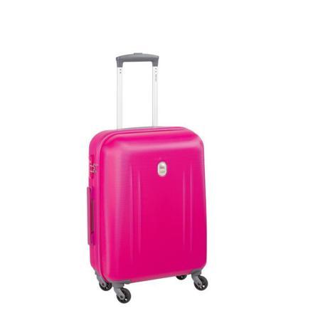 valise rigide rose