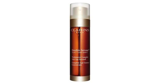 clarins double serum traitement complet anti âge intensif 50 ml