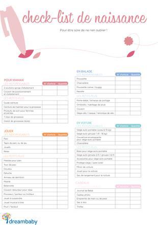 exemple liste naissance