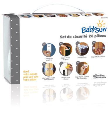 kit sécurité bébé