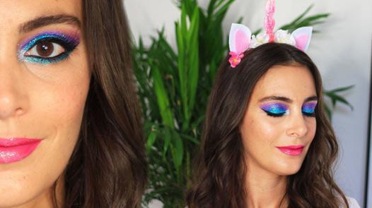 maquillage de licorne