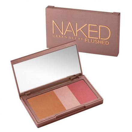 naked flushed
