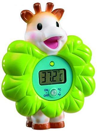 thermomètre de bain sophie la girafe