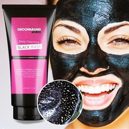 masque visage noir