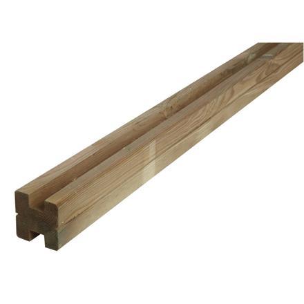 poteau cloture bois