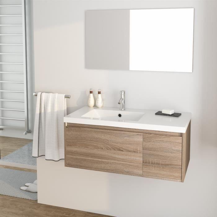 meuble salle de bain 90 cm